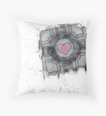 Portal Inspired art Throw Pillow