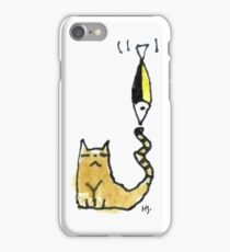 Cat Juggeling with Fish iPhone Case/Skin