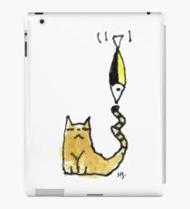 Cat Juggeling with Fish iPad Case/Skin