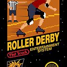 8-bit Roller Derby by renduh