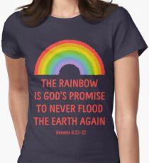Rainbow God's Promise Genesis 6:13-22 T Shirt T-Shirt