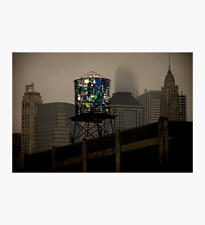 Brooklyn Water Tower Photographic Print