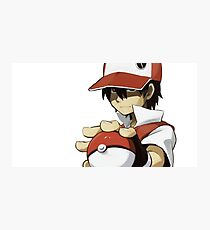 PKMN TRAINER RED Photographic Print