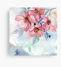 Lienzo Watercolor Flowers