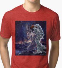 San. Mononoke princess fanart. Tri-blend T-Shirt