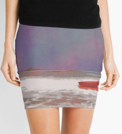 Wee Red Boat Mini Skirt