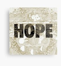 """Hope"" by Manchester Orchestra Metal Print"