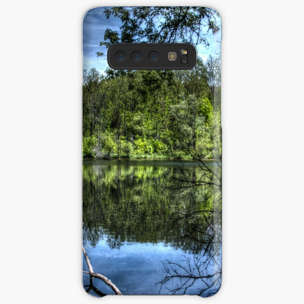 Reflected trees Case & Skin for Samsung Galaxy