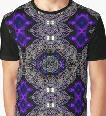Long Exposure Kaleidoscope Graphic T-Shirt