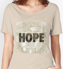 """Hope"" by Manchester Orchestra Women's Relaxed Fit T-Shirt"