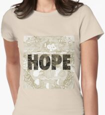 """Hope"" by Manchester Orchestra Womens Fitted T-Shirt"
