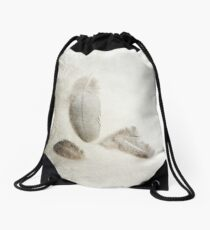 Four Feathers Drawstring Bag
