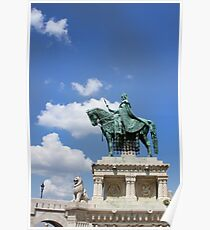 Statue of St Stephen Poster