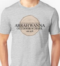 Arrah Wanna Outdoor School (fcb) Unisex T-Shirt