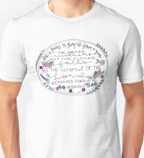 1 Peter 1:24-25 Unisex T-Shirt
