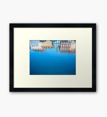 Nyhavn St, Copenhagen Framed Print