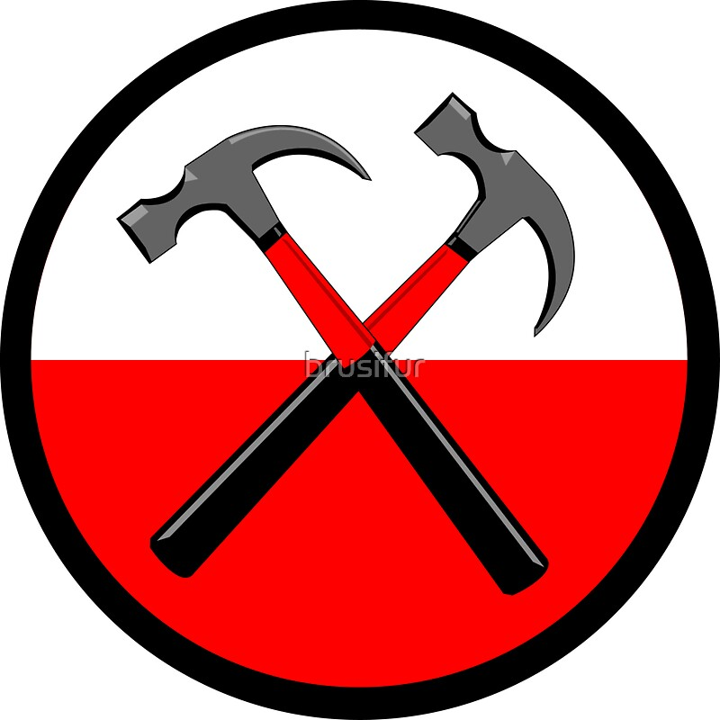 Quot Pink Floyd Hammers Quot Stickers By Robert Bruce Anderson