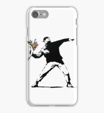 Flower Thrower - Banksy iPhone Case/Skin