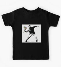 Flower Thrower - Banksy Kids Clothes