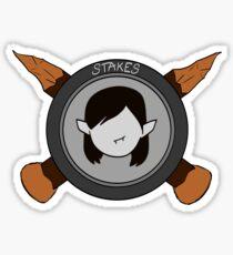 Stakes Sticker