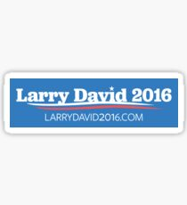 Larry David 2016 Bumper Sticker Sticker
