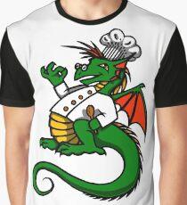 Chef Dragon Graphic T-Shirt