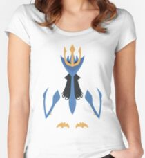 Slightly Inverted Minimalistic Empoleon  Women's Fitted Scoop T-Shirt