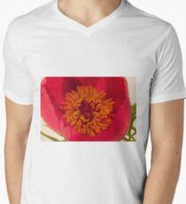 Pink Peony Stamen Macro T-Shirt