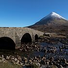 Glamaig and the Sligachan Bridge by derekbeattie