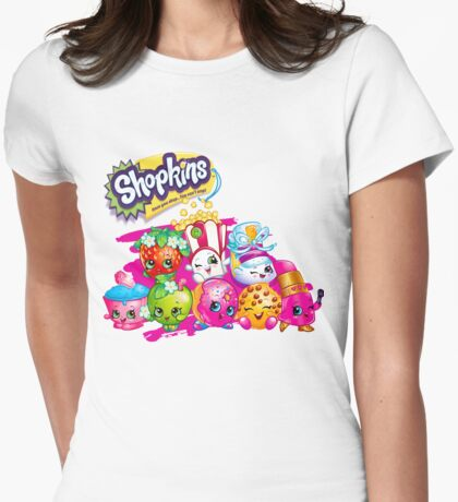 Shopkin Squad 2 Womens Fitted T-Shirt