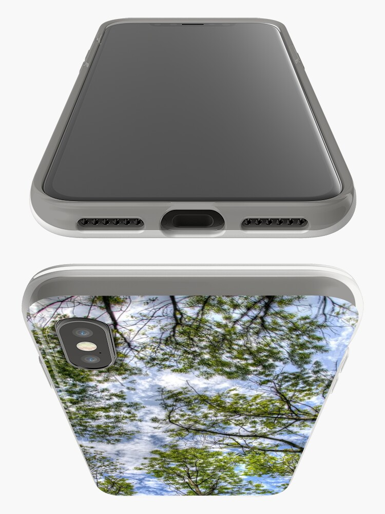 Alternate view of Trees in the sky iPhone Case & Cover