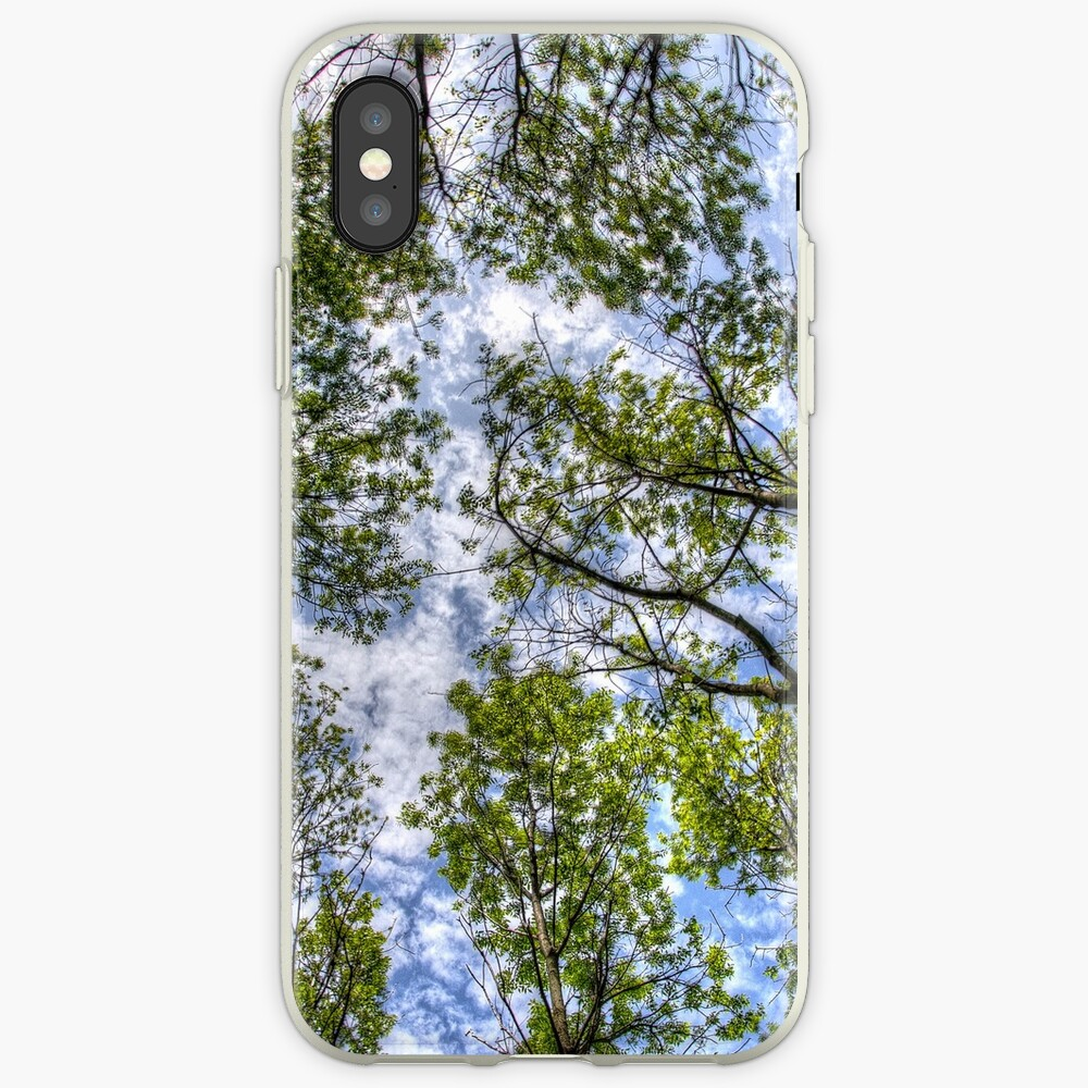 Trees in the sky iPhone Case & Cover