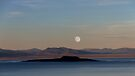 Moonrise Over Mono Lake and Paoha Island. by Alex Preiss