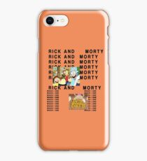Rick and Morty The Life of Pablo iPhone Case/Skin