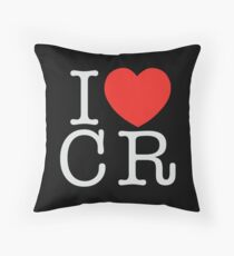 I <3 CRITICAL ROLE (CR) - White Throw Pillow