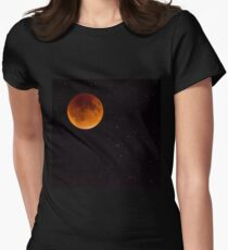 Blood moon Fitted T-Shirt