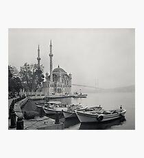 Grand Mecidiye Mosque - Ortakoy - Istanbul Turkey Photographic Print