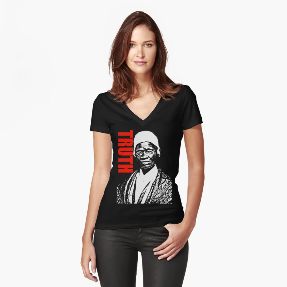 WAHRHEIT Shirt mit V-Ausschnitt