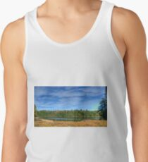 Forest under blue sky Tank Top