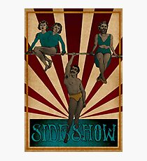 Side Show Photographic Print