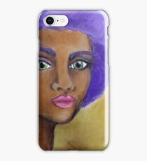 Purple Afro iPhone Case/Skin