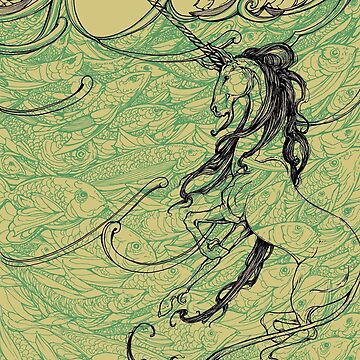 Unicornio en el mar de jessicagadra