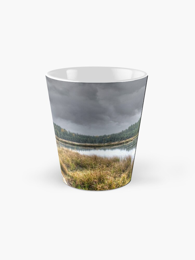 Alternate view of Clouds over the wetlands Mug