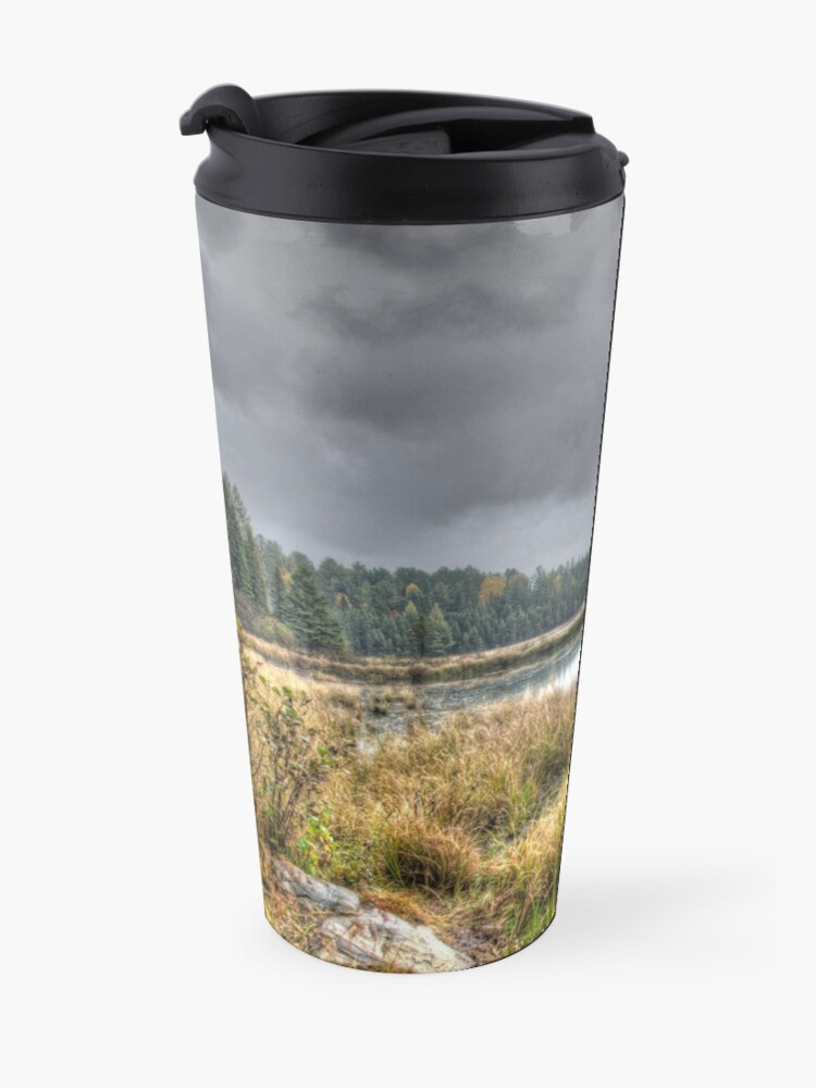 Alternate view of Clouds over the wetlands Travel Mug