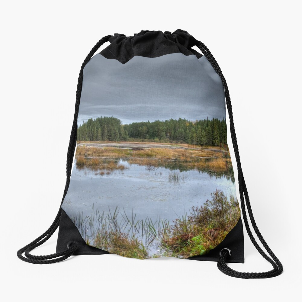 Wetlands Drawstring Bag