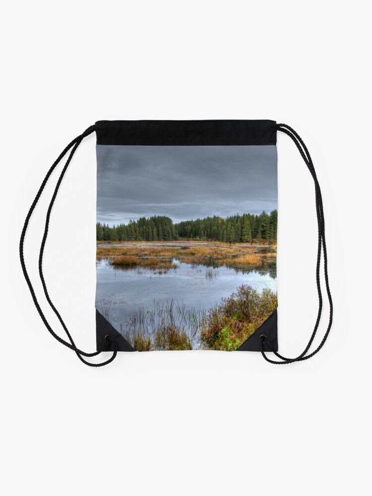 Alternate view of Wetlands Drawstring Bag