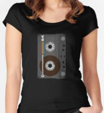 Commodore 64 Cassette Tape Women's Fitted Scoop T-Shirt