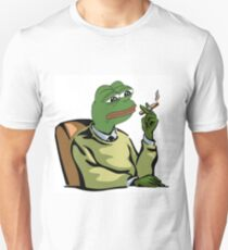 CASUAL DRESSED PEPE THE FROG MEME (RARE) T-Shirt