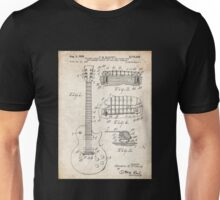 Gibson Les Paul Guitar US Patent Art 1955 Unisex T-Shirt