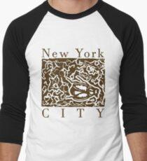 new york city- dead cockroach Men's Baseball ¾ T-Shirt